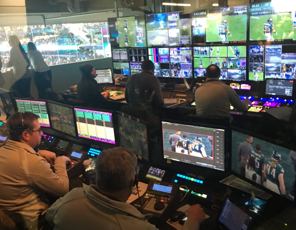 Super Bowl LII Newsroom